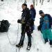 初めての初級雪山訓練